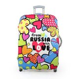 Luggage Suitcase Protective Cover Russia Love 18 20 Inch Asli
