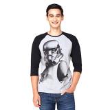 Spesifikasi Star Wars Stromtrooper Raglan T Shirt Putih Online