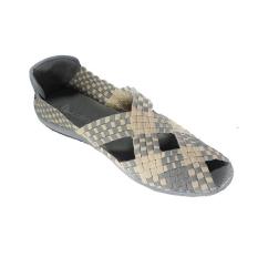 Jual Lulia Sepatu Rajut Vs33 Abu Grosir