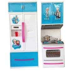 Lumi Toys Kitchen Play Set Mainan Dapur Anak Frozen Snow Ice