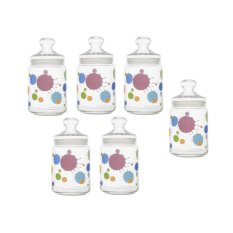 Review Pada Luminarc Splash Jar 1L 6 Pcs