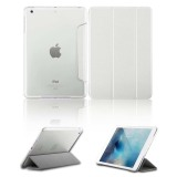 Spesifikasi Luxury Magnetic Slim Smart Wake Kulit Transparan Back Case Cover Untuk Apple Ipad Mini 1 2 3 Putih Terbaru