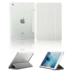 Spesifikasi Luxury Magnetic Slim Smart Wake Kulit Transparan Back Case Cover Untuk Apple Ipad Mini 1 2 3 Putih Dan Harga