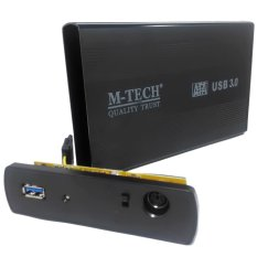 M-Tech Casing Hardisk Eksternal 3.5 Sata Usb Versi 3.0
