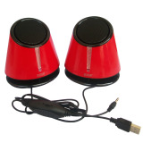 Review Toko M Tech Mt 08 Multimedia Mini Speaker 7 Color Led Merah