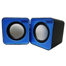 M-Tech Speaker Portable Laptop Notebook Stereo - M-Tech 01 - Biru