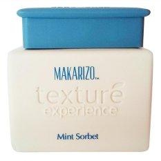 Review Pada Makarizo Texture Experience Masker Rambut Mint Sorbet 500 G Biru