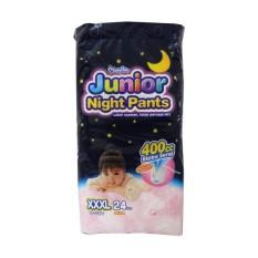 Harga Termurah Mamypoko Junior Night Pants G*Rl Xxxl24