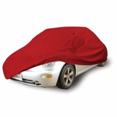 Mantroll Cover Mobil daihatsu sirion Merah / Jas Mobil Berkualitas / Mantel Mobil Original / Sarung Mobil Mantroll / Cover Penutup Mobil Original