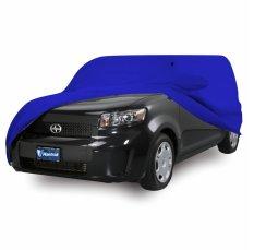 Mantroll Cover Mobil Honda CRV 2012- 2016 Biru Benhur / Jas Mobil Berkualitas / Mantel Mobil Original / Sarung Mobil Mantroll / Cover Penutup Mobil Original