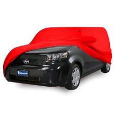 Jual Mantroll Cover Mobil Mitsubishi Outlander Merah Original