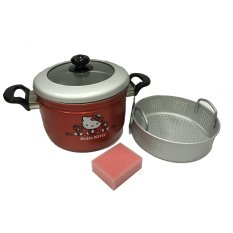 Beli Maspion Hello Kitty Colan Panci Panca Guna 22 Cm Panci Dan Kukus Pans And Steamer
