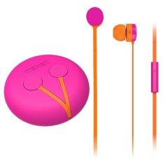 Toko Maxell Mxh Ie100C Yoyobuds Earphones Pink Oranye Murah Indonesia