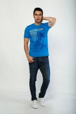 Harga Maxmillian T Shirt Athoritative 22310009C Biru Maxmillian Original