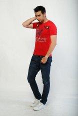 Diskon Maxmillian T Shirt Breaking Boundaries 22310008C Merah
