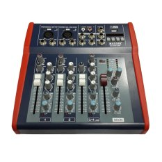 Maxxis Mixer 4 Channel MX-400 USB - Hitam