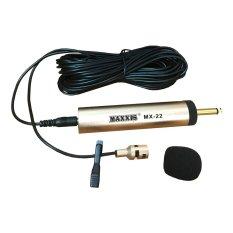 Maxxis Mx 22 Mic Mik Microphone Mikrofon Jepit Baju Mini Di Banten