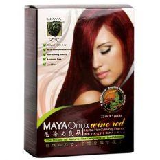 Harga Maya Onyx Shampoo Wine Red 5 Sachet Maya Terbaik