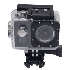 Mcoplus 1080 P Helm Olahraga DV Full HD 12 MP Mobil Perekam Camcorder Menyelam Kamera Sepeda Action Camera CamF23SJ4000 (Hitam)