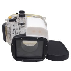 Mcoplus 40 M/130ft Kamera Underwater Perumahan Tahan Air Menyelam Case untuk Canon PowerShot G1X