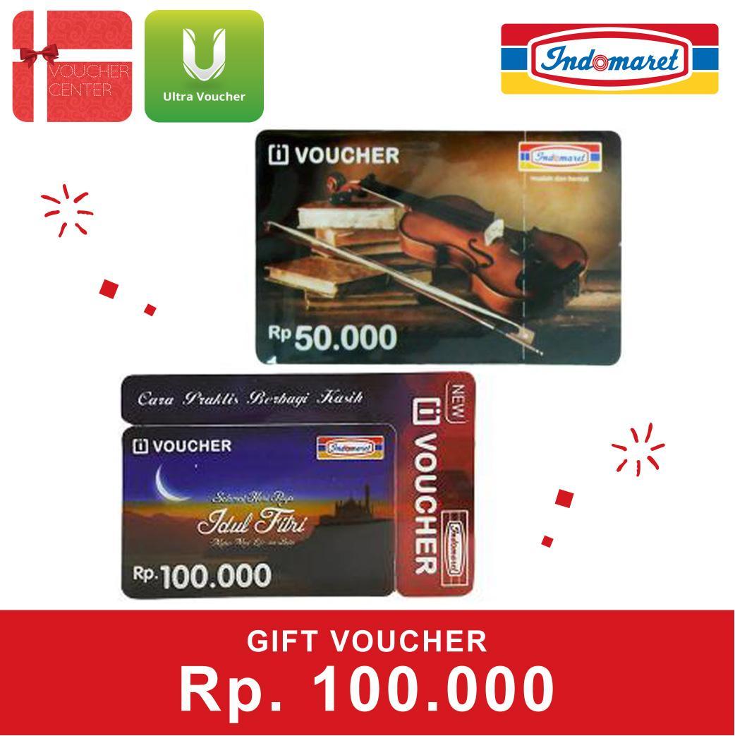Voucher Indomaret Rp.100.000 By Voucher Center.