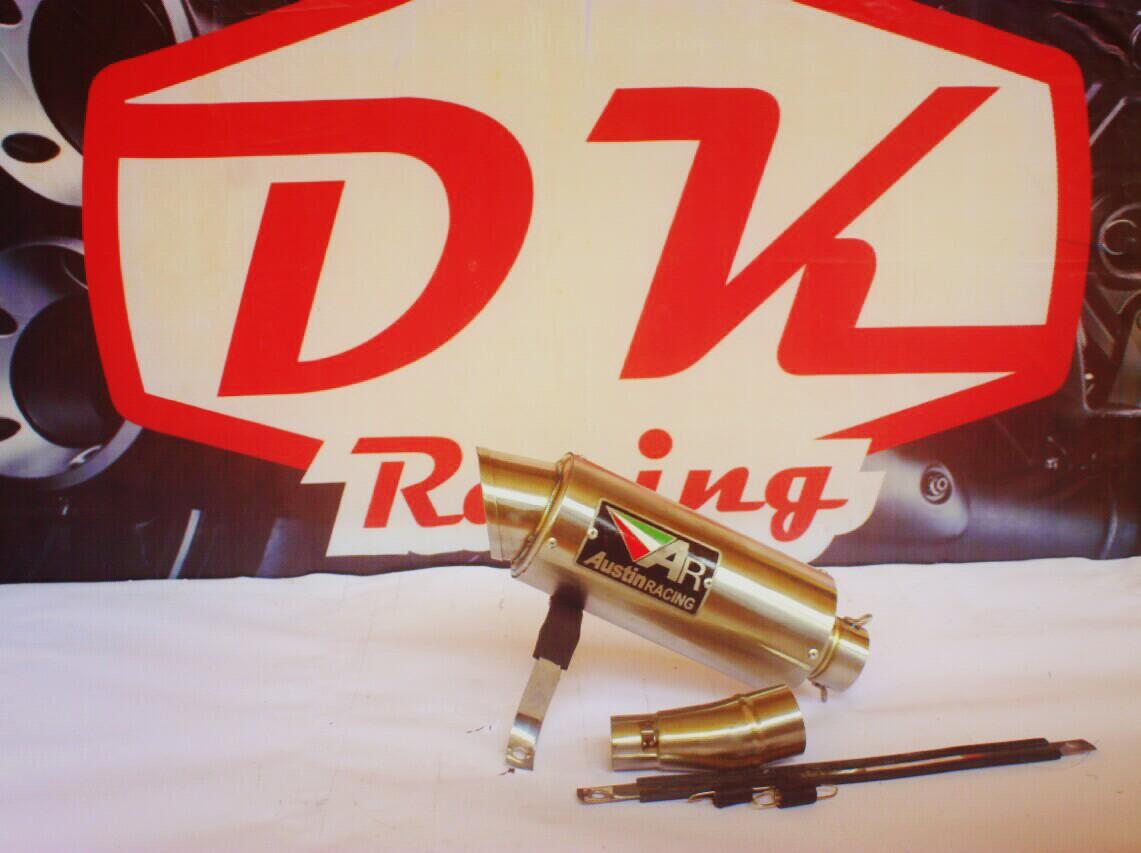Knalpot Racing Kawasaki Versys 250 Slip On Austin Racing Titan By Dk Racing Bekasi.