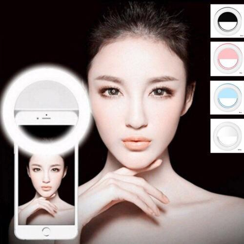 Kasimurah Lampu Selfie Ring Light Led / Ringlight Premium Bulat Untuk Kamera Camera Hp Flash Murah By Kasimurah.