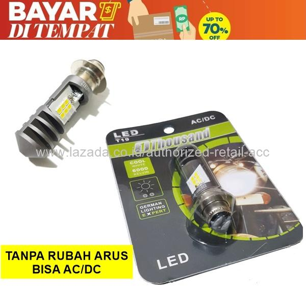 Thousand Lampu Depan Motor Honda Spacy Fi 2015-on  T19 LED Bayar Ditempat