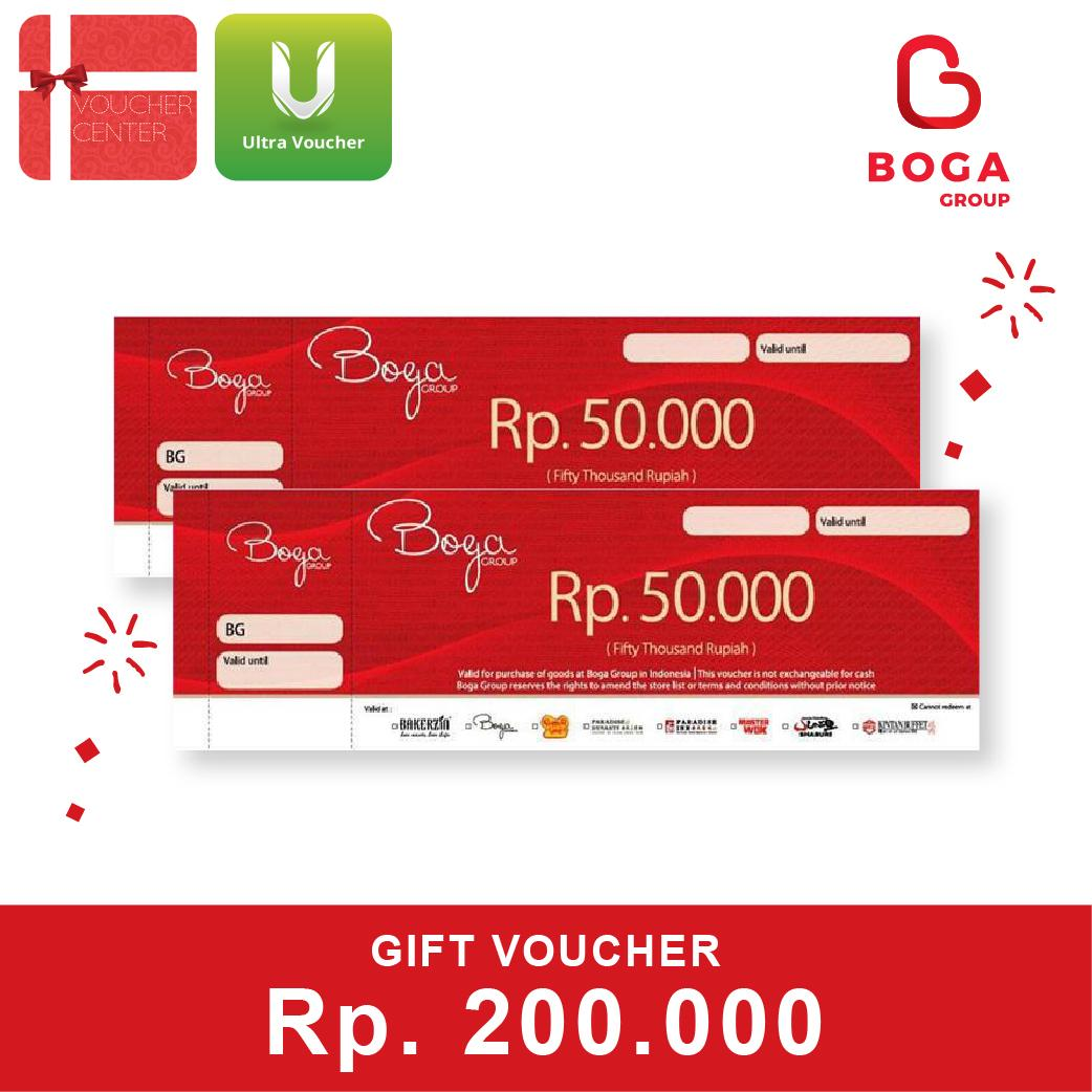 Voucher Boga Grup Rp.200,000 By Voucher Center.