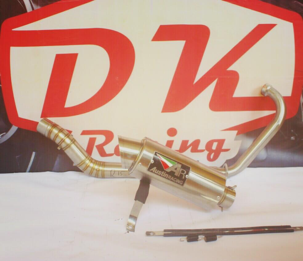 Knalpot Racing Yamaha Scorpio Z Austin Racing Titan By Dk Racing Bekasi.