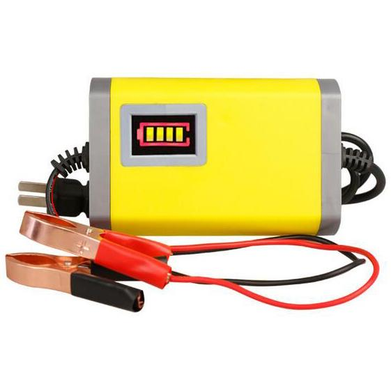 Rs Charger Aki Motor 12v 2a - Smt12v2p - Yellow By Raffy Shop By Raffy Shop.