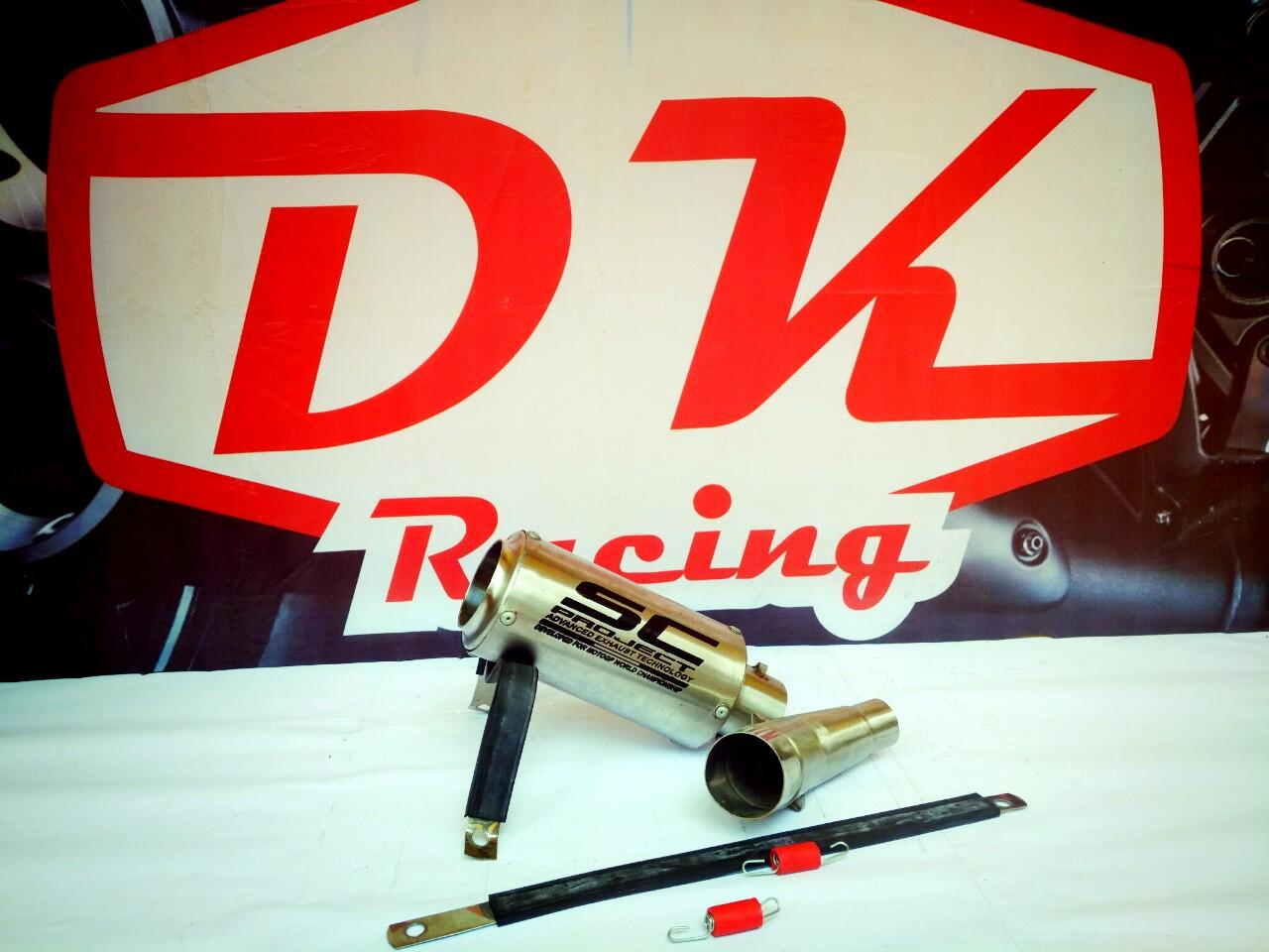 Knalpot Racing Kawasaki Versys 250 Slip On Sc Project Titann By Dk Racing Bekasi.