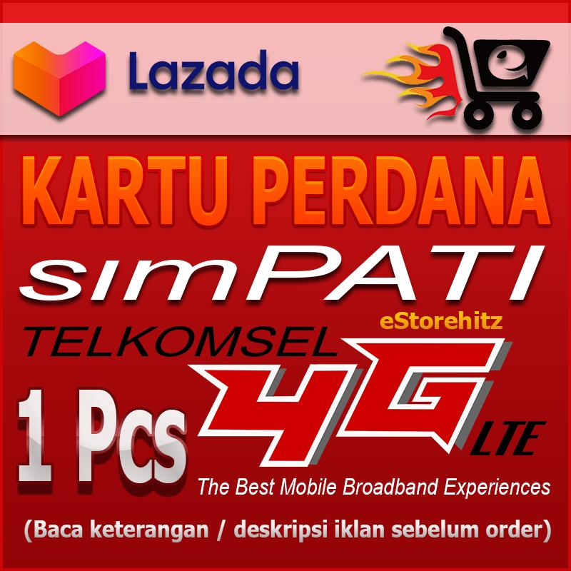 GROSIR Kartu Perdana Simpati Telkomsel 4G LTE Your Everyday Discoveries PULSA 10000 Registrasi NASIONAL Masa berlaku s/d 31 Desember 2019