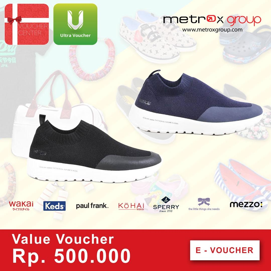 Metrox Digital Voucher Rp. 500.000,- By I-Voucher Center.