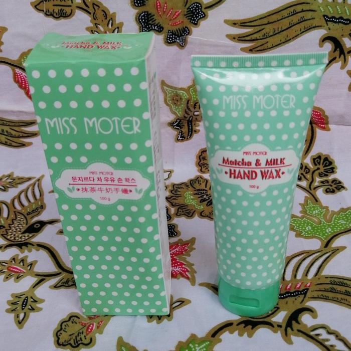 Miss Moter Matca Hand Wax Green - Masker Tangan Peeling Spa By Herbal Berkah Jaya.