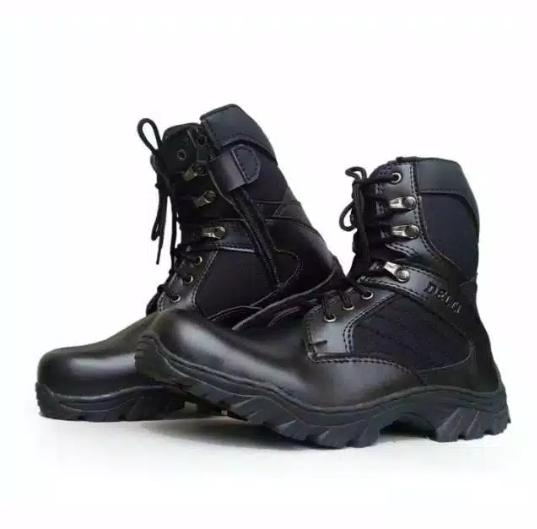 Promo Sepatu Boots Safety Delta 8 In Hitam By Anita Colecsean.
