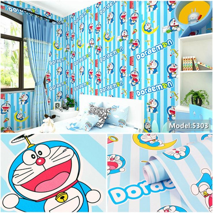 Wallpaper Dinding Kartun Doraemon Line Wpsdora2 Wallpaper Sticker Kamar Anak Best Seller Dekorasi Rumah Playground Kids Room Stiker Lemari Meja Belajar Kayu Jual Walpeper Murah Praktis Ada Lem Langsung Tempel Lazada