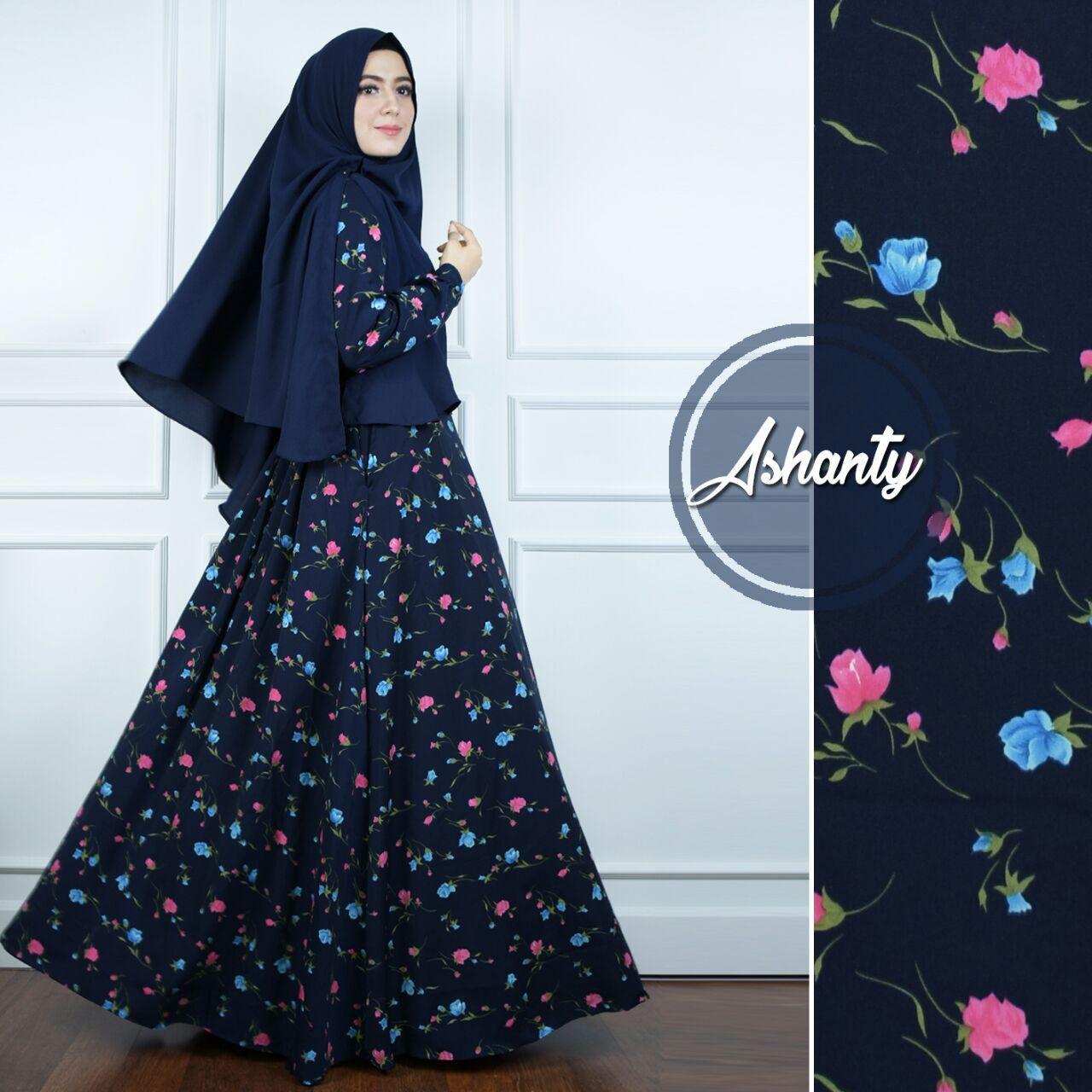 Jr Baju Gamis Gamis Syari Gamis Wanita Model Terbaru 2019 Baju Muslimah Bahan Monalisa Set Kerudung Jihan