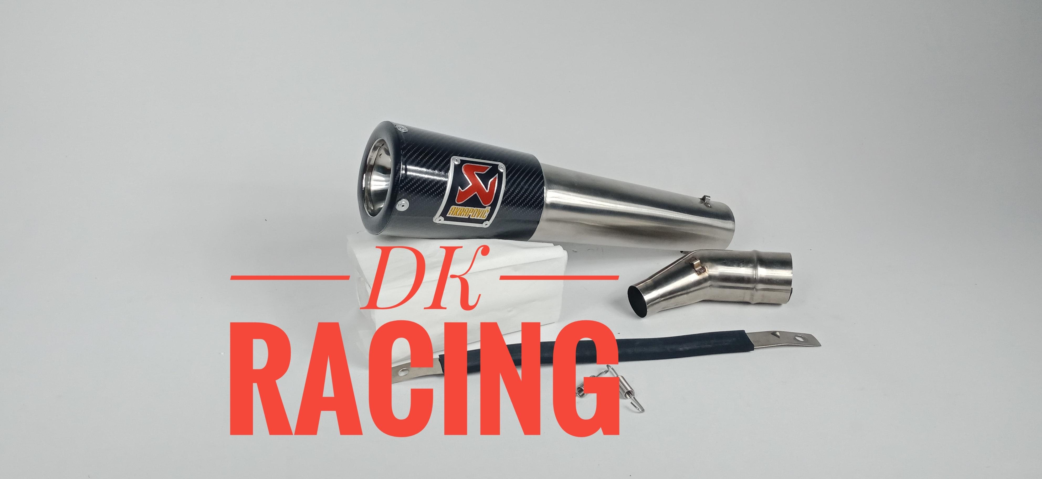 Knalpot Racing Honda Cbr 250 Cbu Thailand Slip On Akrapovic Glass Carbon By Dk Racing Bekasi.