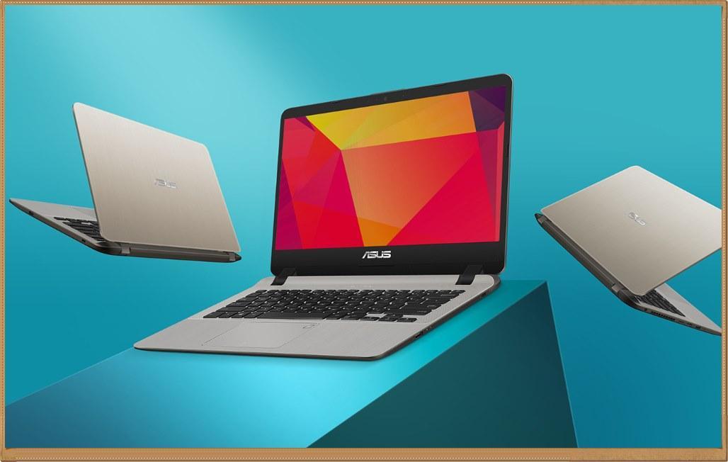 Asus Vivobook A407MA Intel N4000 Ram4Gb HDD1TB Fingerprint Windows 10 Original
