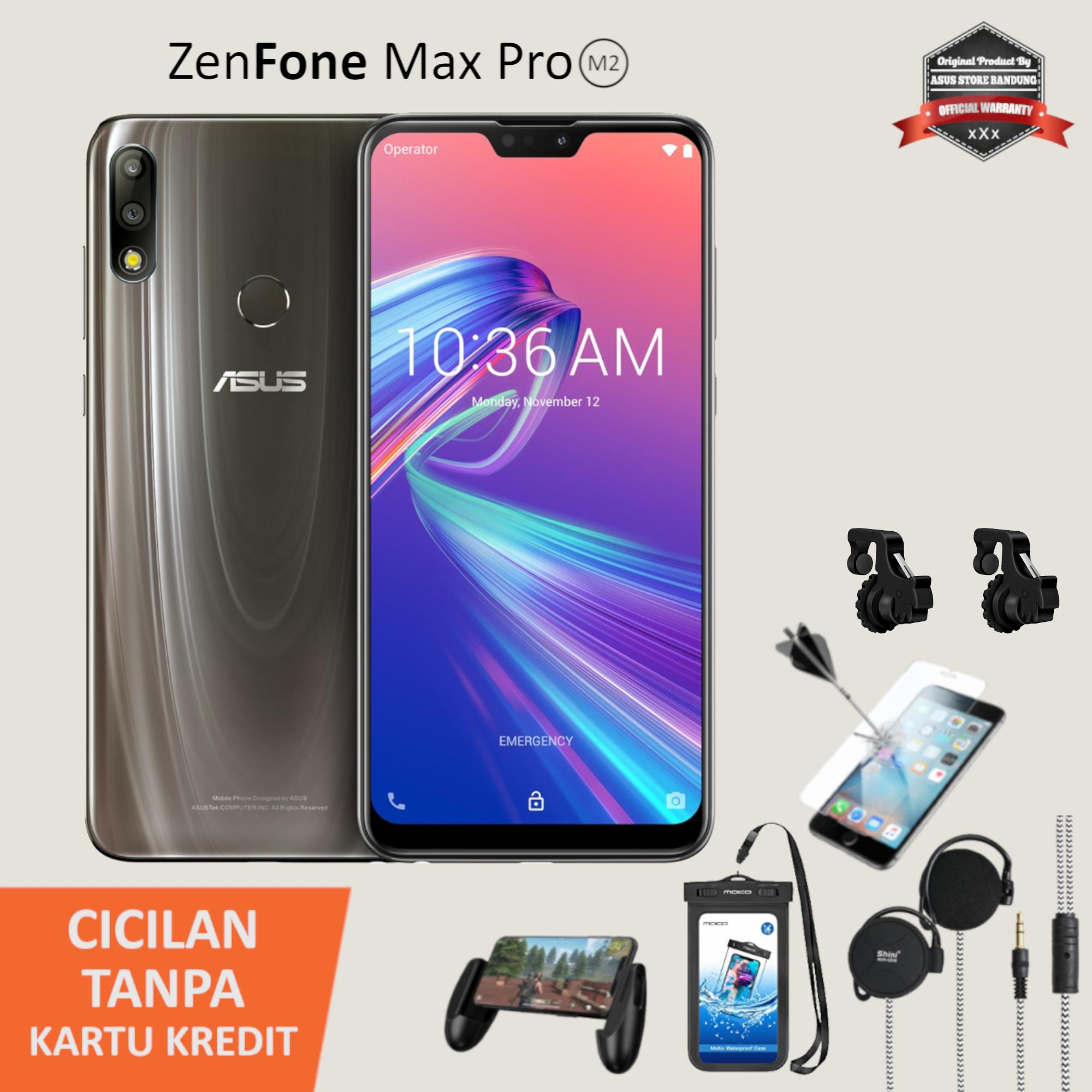 Asus Zenfone Max Pro M2 ZB631KL 4/64 Gorilla Glass 6 5000mAh + Free Gift Special Combo