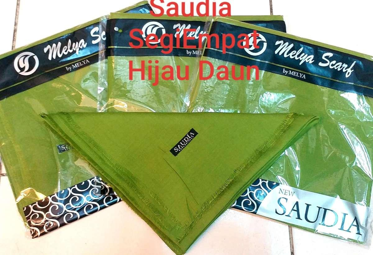 DnD-(COD) PROMO Hijab SAUDIA Segi Empat / jilbab segi empat / kerudung segi empat / kerudung polos / Termurah / Hijab Rawis