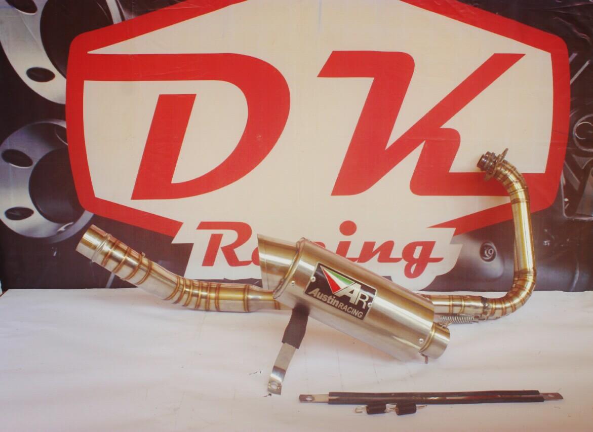 Knalpot Racing Kawasaki Z250 Austin Racing Titan By Dk Racing Bekasi.