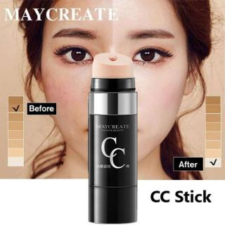COD BISA MayCreate Face Foundation Makeup Air Cushion Krim CC Concealer Roller Design Bare Whitening Isolation Concealer Moisturizing Cosmetics thumbnail