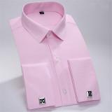 Harga Pria Business Cotton Formal Lengan Panjang Twill Shirt Pink Mhw03 Xs Xxxl Intl Oem Ori