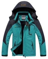 Harga Pria Tahan Air Jaket Ski Fleece Windproof Sportswear Sky Biru Xxxl Merk Oem