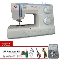Messina P 5823 Mesin Jahit Portable Gratis Vip Packages Kit Terbaru