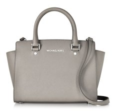 Review Pada Michael Kors Selma Satchel Medium Grey