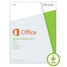 Spek Microsoft Office Home Student 2013