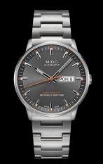 Mido Commander II Chronometer M021.431.11.061.01 - Jam Tangan Pria - Abu-Abu
